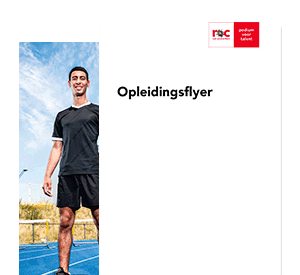 Sport & Business opleidingsflyer