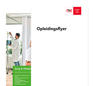Allround Laborant opleidingsflyer