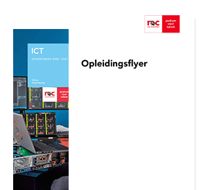 Allround Medewerker IT Systems & Devices opleidingsflyer