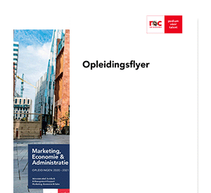 International Marketing Management opleidingsflyer