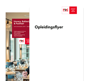 International Food & Beverage Management  opleidingsflyer