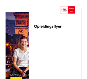 Allround Hospitality Medewerker on the Job opleidingsflyer