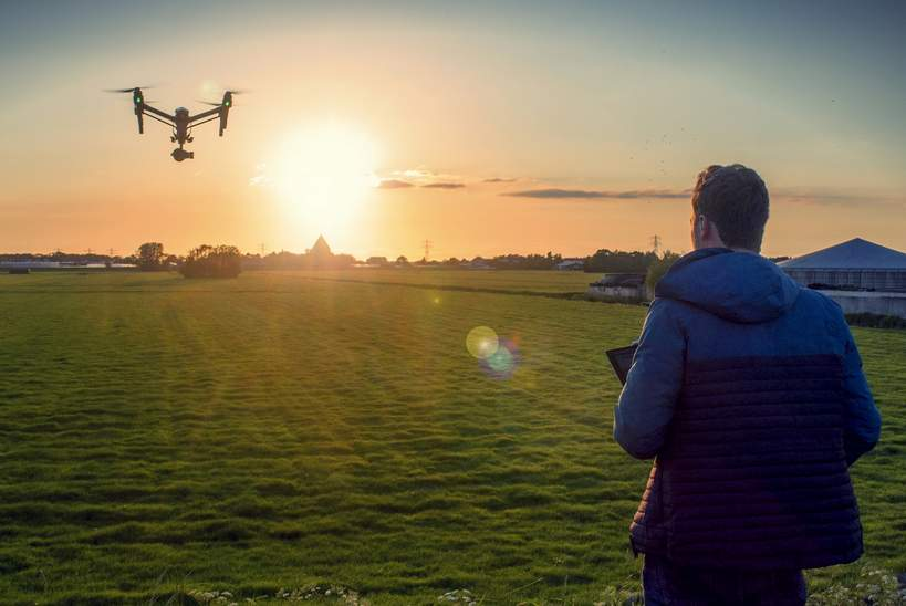 MBO College Airport start studie drone-technologie