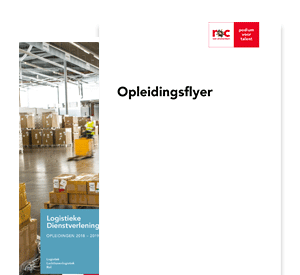 Logistiek Teamleider - House of Logistics opleidingsflyer