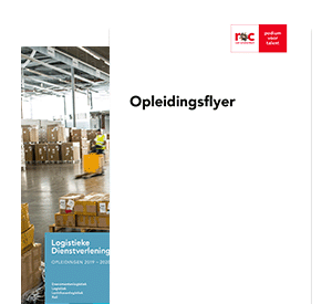 Logistiek Supervisor - House of Logistics opleidingsflyer